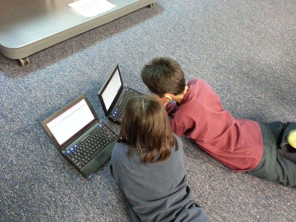 La classe de Karine : informatique